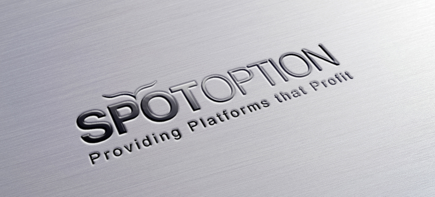 Spotoption-Metallic-Logo-PSD-Mock-Up