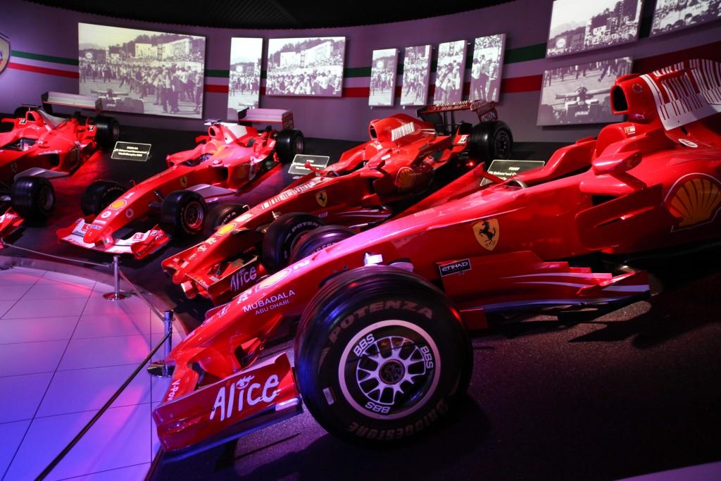Visitors Explore The Ferrari Museum As Supercar Manufacturer Ferrari SpA Valued At Up To $9.82 Billion In IPO