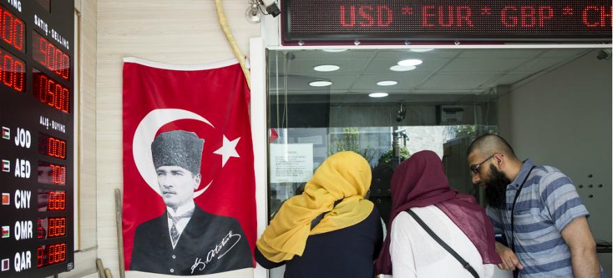 Turkey currency exchange shop