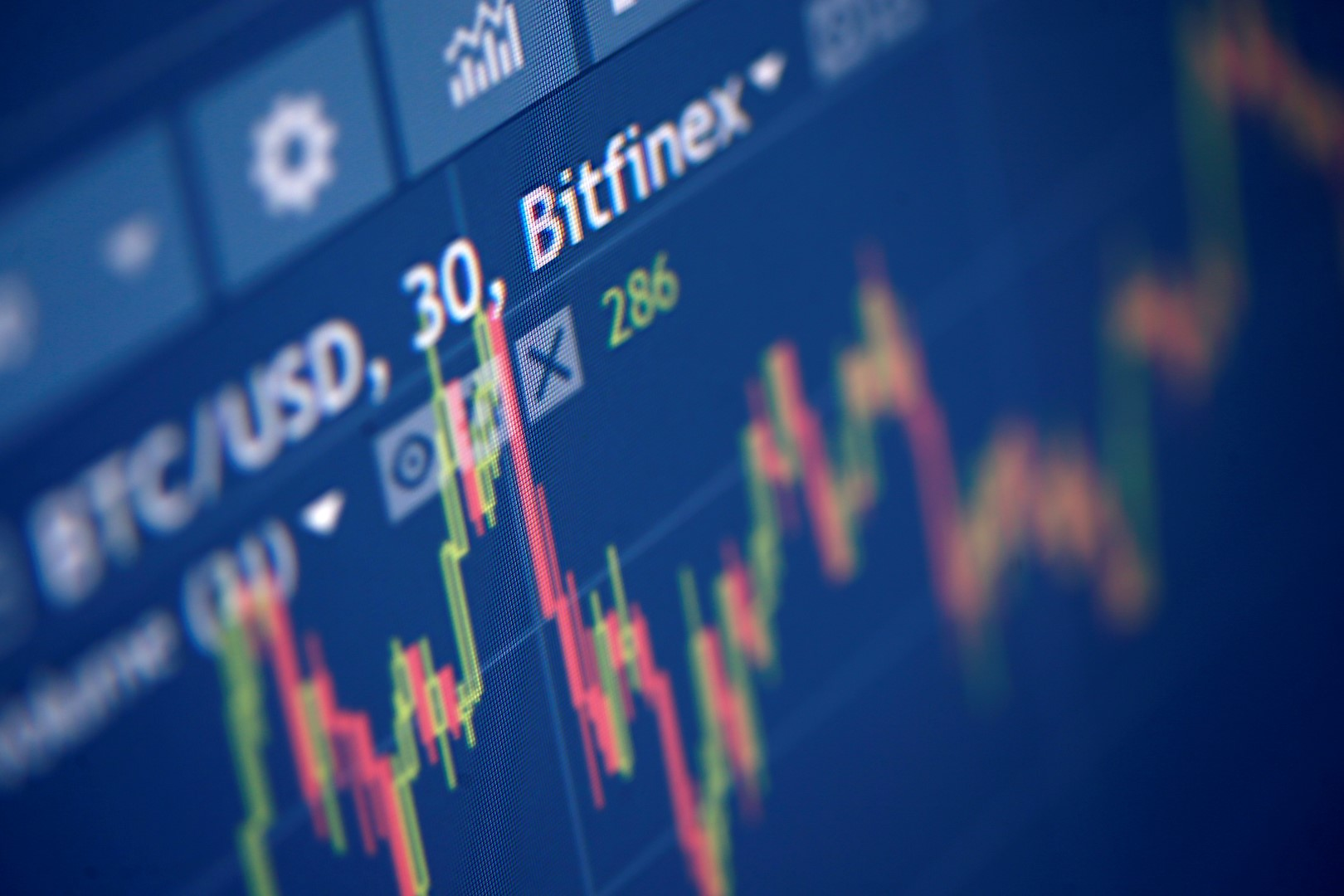 Photo illustration of Bitfinex cryptocurrency exchange website taken September 27, 2017. Picture taken September 27, 2017. REUTERS/Dado Ruvic/Illustration - RC1A90EFFF60